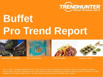Buffet Trend Report and Buffet Market Research