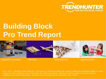 Building Block Trend Report and Building Block Market Research