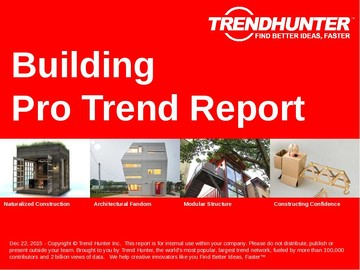 Building Trend Report and Building Market Research