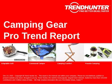 Camping Gear Trend Report and Camping Gear Market Research