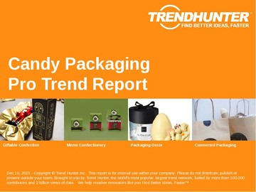 Candy Packaging Trend Report and Candy Packaging Market Research