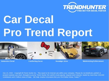 Car Decal Trend Report and Car Decal Market Research