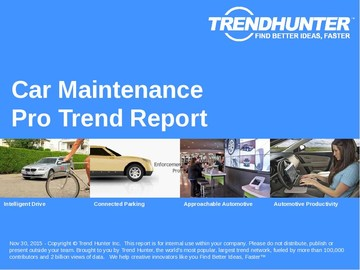 Car Maintenance Trend Report and Car Maintenance Market Research