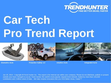 Car Tech Trend Report and Car Tech Market Research