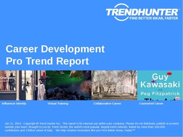 Career Development Trend Report and Career Development Market Research