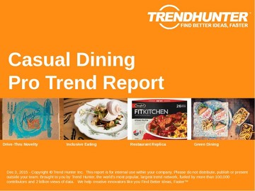 Casual Dining Trend Report and Casual Dining Market Research