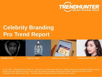 Celebrity Branding Trend Report and Celebrity Branding Market Research