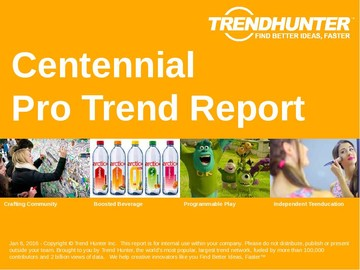 Centennial Trend Report and Centennial Market Research