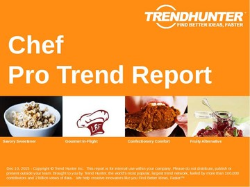 Chef Trend Report and Chef Market Research