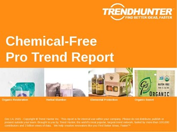Chemical-Free Trend Report and Chemical-Free Market Research