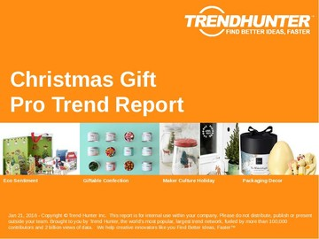 Christmas Gift Trend Report and Christmas Gift Market Research