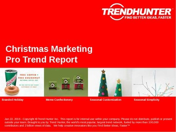 Christmas Marketing Trend Report and Christmas Marketing Market Research