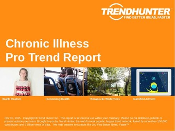 Chronic Illness Trend Report and Chronic Illness Market Research