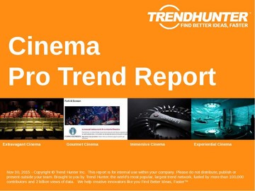 Cinema Trend Report and Cinema Market Research