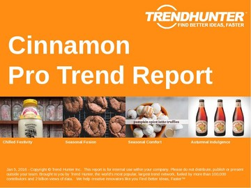 Cinnamon Trend Report and Cinnamon Market Research