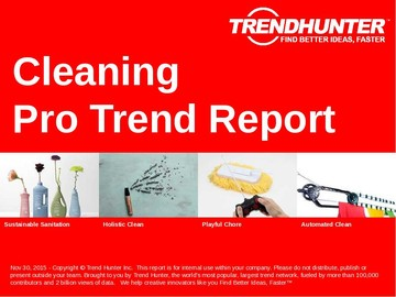 Cleaning Trend Report and Cleaning Market Research