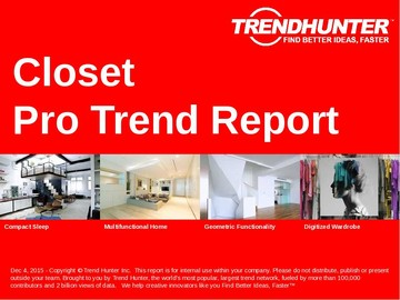 Closet Trend Report and Closet Market Research