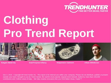 Clothing Trend Report and Clothing Market Research
