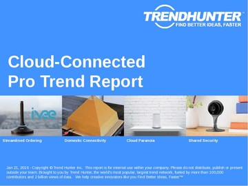 Cloud-Connected Trend Report and Cloud-Connected Market Research