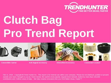 Clutch Bag Trend Report and Clutch Bag Market Research