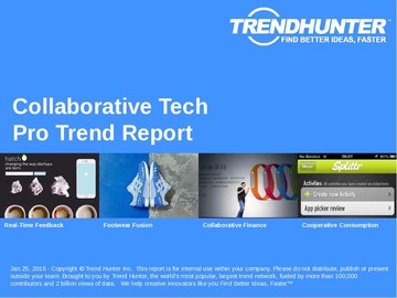 Collaborative Tech Trend Report and Collaborative Tech Market Research