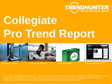 Collegiate Trend Report and Collegiate Market Research