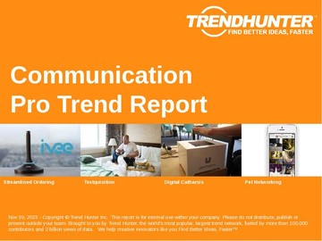 Communication Trend Report and Communication Market Research