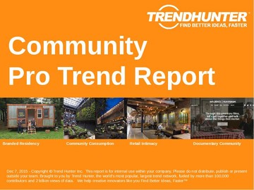 Community Trend Report and Community Market Research