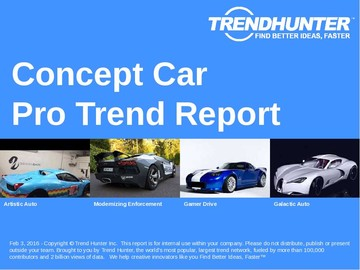 Concept Car Trend Report and Concept Car Market Research