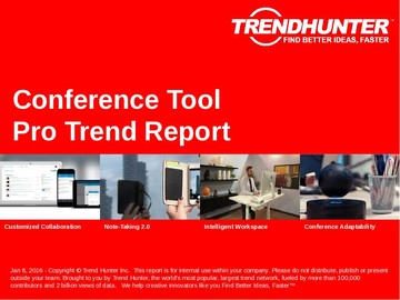 Conference Tool Trend Report and Conference Tool Market Research