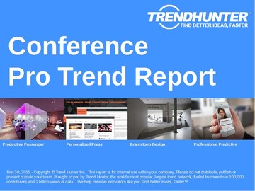 Conference Trend Report and Conference Market Research