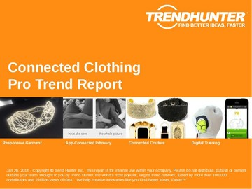 Connected Clothing Trend Report and Connected Clothing Market Research