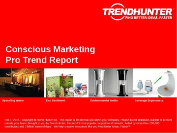 Conscious Marketing Trend Report and Conscious Marketing Market Research