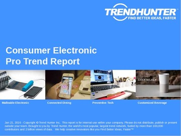 Consumer Electronic Trend Report and Consumer Electronic Market Research