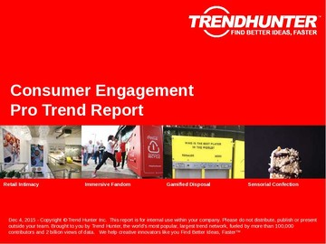Consumer Engagement Trend Report and Consumer Engagement Market Research