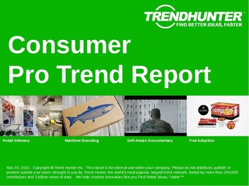 Consumer Trend Report and Consumer Market Research