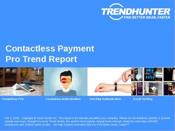Contactless Payment Trend Report and Contactless Payment Market Research