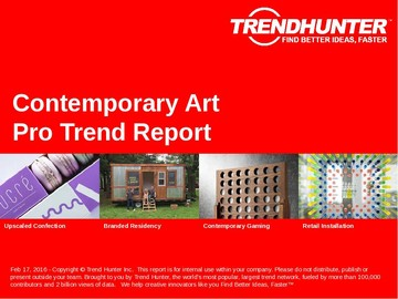 Contemporary Art Trend Report and Contemporary Art Market Research