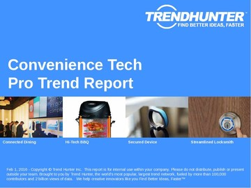 Convenience Tech Trend Report and Convenience Tech Market Research