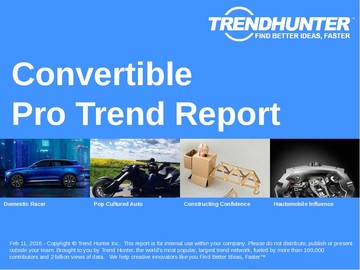 Convertible Trend Report and Convertible Market Research