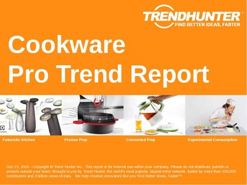 Cookware Trend Report and Cookware Market Research