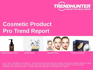 Cosmetic Product Trend Report and Cosmetic Product Market Research