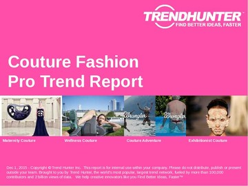 Couture Fashion Trend Report and Couture Fashion Market Research