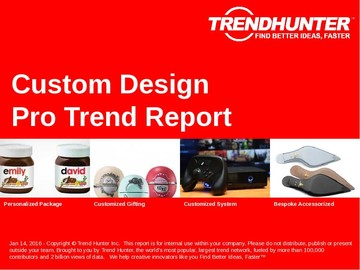 Custom Design Trend Report and Custom Design Market Research