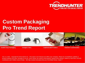 Custom Packaging Trend Report and Custom Packaging Market Research