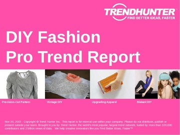 DIY Fashion Trend Report and DIY Fashion Market Research