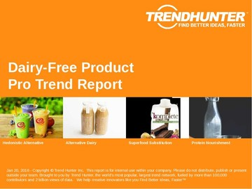 Dairy-Free Product Trend Report and Dairy-Free Product Market Research