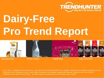 Dairy-Free Trend Report and Dairy-Free Market Research
