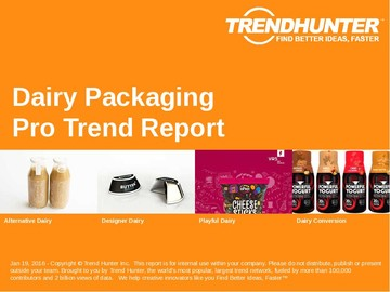 Dairy Packaging Trend Report and Dairy Packaging Market Research