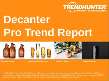Decanter Trend Report and Decanter Market Research